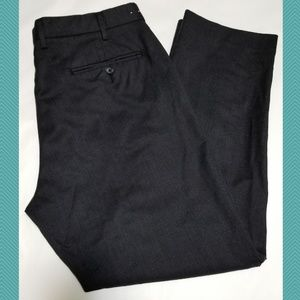 J. Crew Dark Gray 'Bedford' Wool Dress Pants